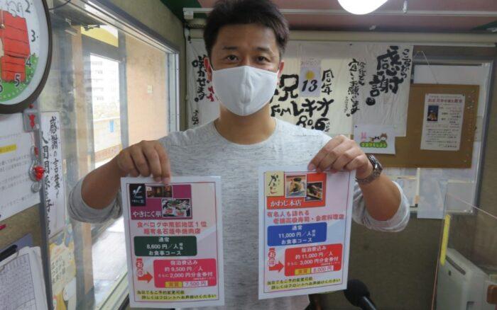 12月1日放送分ゲスト:HIYAGUN lanai RESORT/HOTEL OROX GOTOトラベルキャンペーン!!