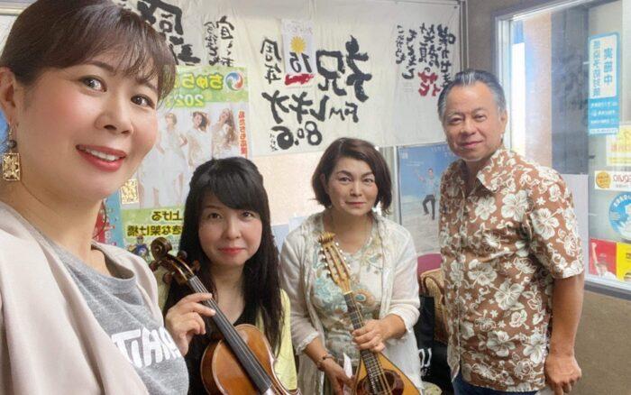 真夏の夜の異弦交流会♪バイオリン、ウクレレ、ギター、マンドリンの合奏をお楽しみください♪